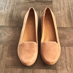 Saban Suede Loafer in Oatmeal